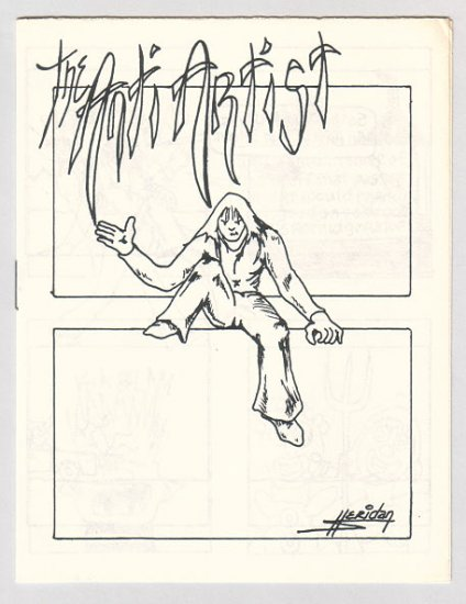 THE ANTI ARTIST mini-comic BOB SHERIDAN 1980s