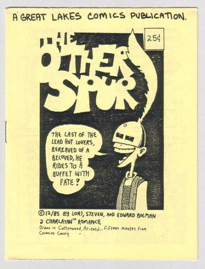 THE OTHER SPUR mini-comic EDWARD BOLMAN 1985