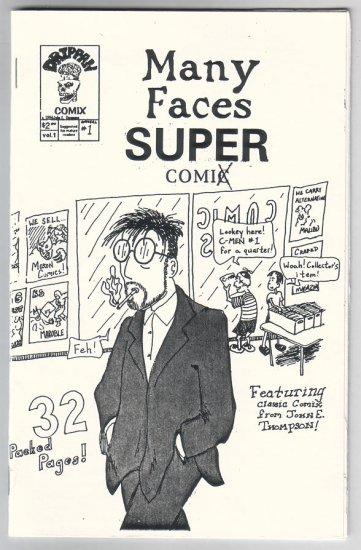 MANY FACES OF JOHN lot of 4 minicomics JOHN E. THOMPSON 1996