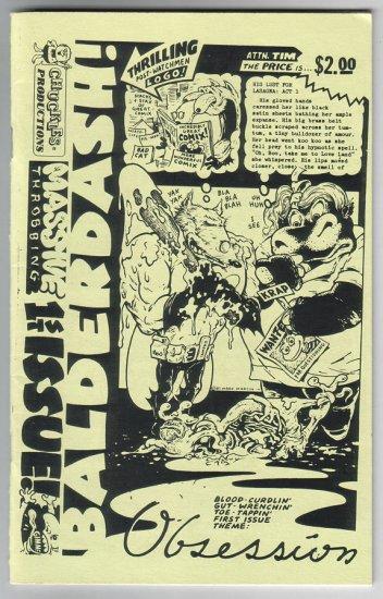 BALDERDASH #1 minicomic MARK MARTIN Sam Henderson MATT FEAZELL 1988