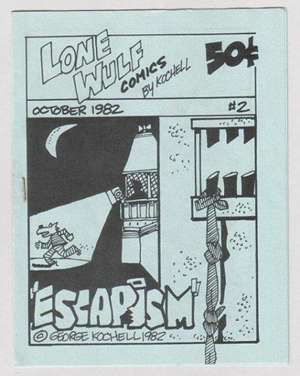 LONE WULF COMICS #2 mini-comic GEORGE KOCHELL 1982
