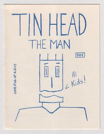 TIN HEAD mini-comic TYRONE 1987 No Way Comix
