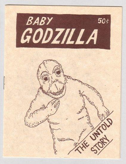 BABY GODZILLA minicomic WAYNO 1985