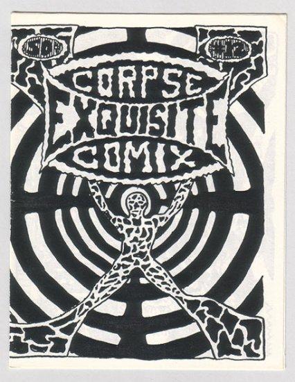EXQUISITE CORPSE #12 mini-comic BILL SHUT John E. 1980s