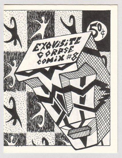 EXQUISITE CORPSE #8 mini-comix SCOTT STEVENS Bill Shut 1985