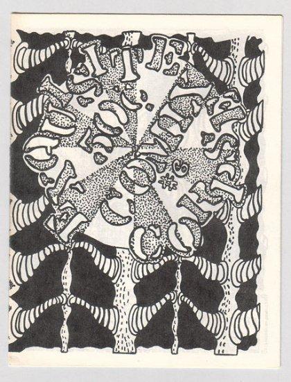 EXQUISITE CORPSE #6 mini-comix MICHAEL DOWERS Bill Shut 1985
