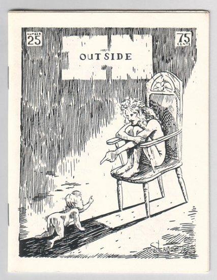 OUTSIDE IN #25 minicomic MARY FLEENER Steve Willis 1987