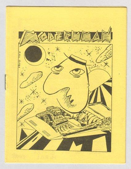 MODERNMAN #1 minicomic MIKE HILL 1986