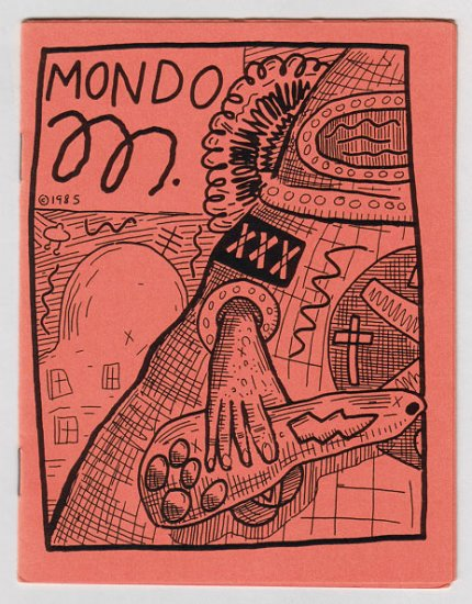 MONDO M mini-comic ANDY NUKES Meher Dada 1985