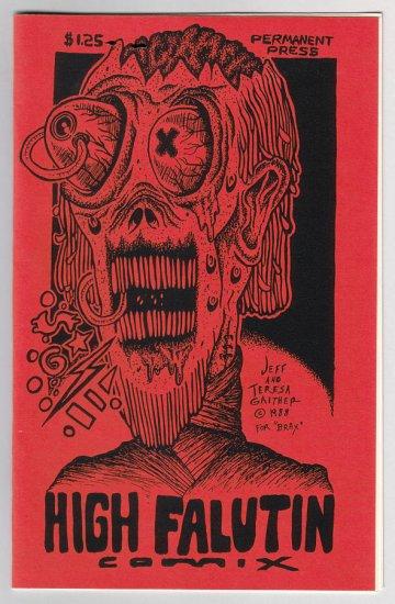 HIGH FALUTIN' COMIX #1 mini-comic JEFF GAITHER Matt Feazell D. TOSH 1988