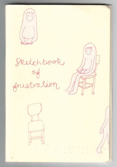SKETCHBOOK OF FRUSTRATION minicomic ALLISON COLE 2001