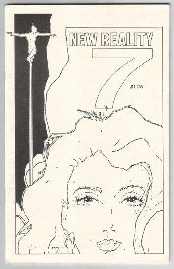 NEW REALITY #7 Canadian mini-comic COLIN UPTON M. Cousin 1987