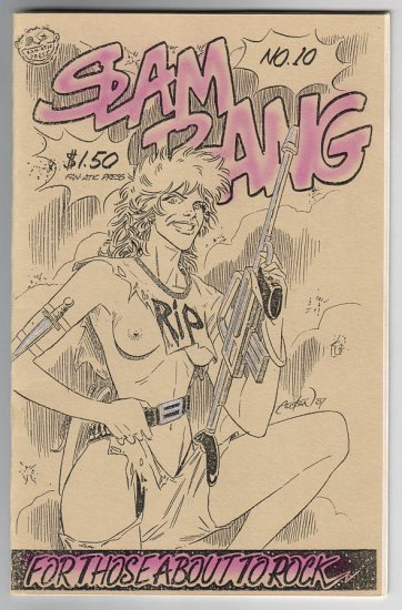 SLAM BANG #10 minicomic MARK MARTIN Brad Foster T.K. ATHERTON 1987