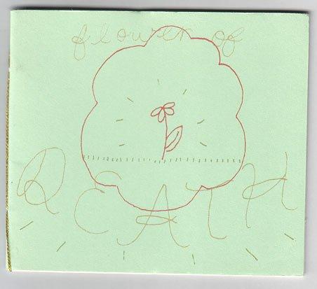 FLOWER OF DEATH mini-comic ALLISON COLE 2002