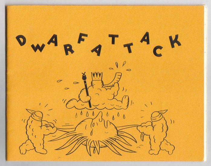 DWARF ATTACK #6 minicomic GREG STUMP 2003