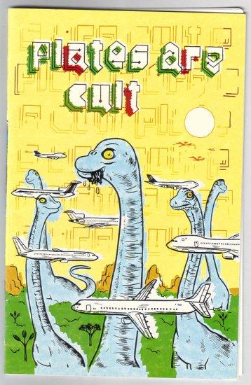 PLATES ARE CULT #1 mini-comic DAMIEN JAY 2002