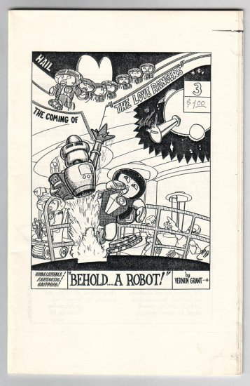 THE LOVE RANGERS #3 mini-comic VERNON GRANT 1981