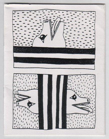 KEITH HARING untitled mini-comic 1982 Appearances Press