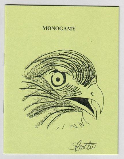 MONOGAMY minicomic zine STEVE WILLIS signed