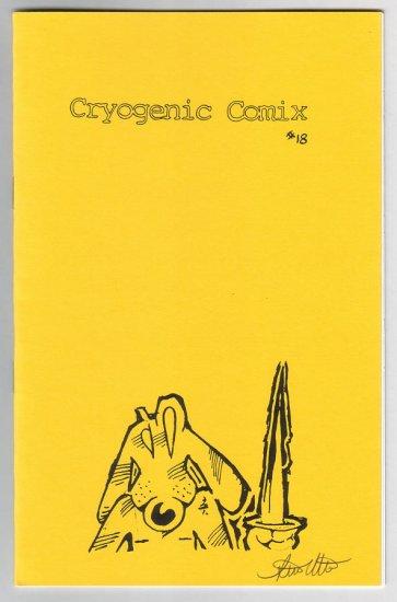 CRYOGENIC COMIX #18 mini-comic STEVE WILLIS MacBeth signed