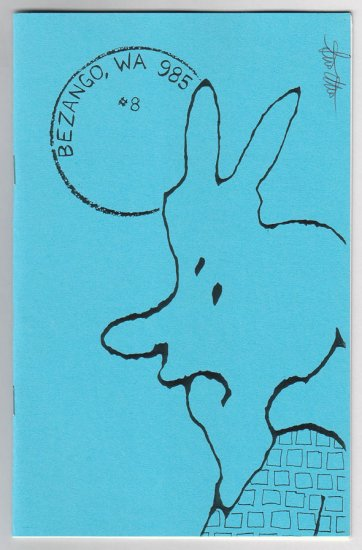 BEZANGO WA 985 #8 minicomic zine STEVE WILLIS signed