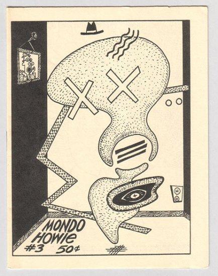 MONDO HOWIE #3 minicomic PETER BAGGE Dennis Worden MARK MARTIN 1987