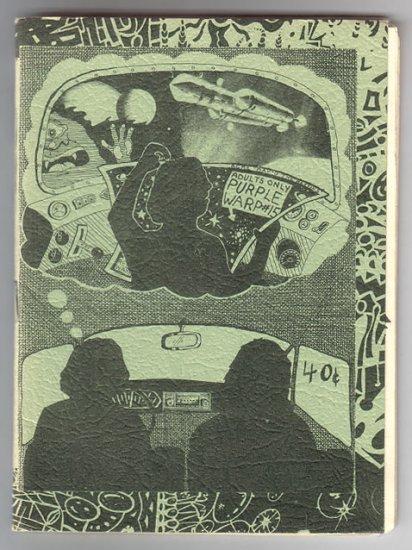 PURPLE WARP #15 mini-comic ARTIE ROMERO Al Greenier 1973