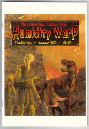 HUMIDITY WARP #5 comic fanzine EARL GEIER Alan Barnard 2001