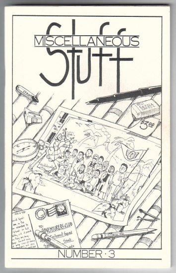 MISCELLANEOUS STUFF #3 Canadian mini-comic ROGER WILLIAMSON Tom Grummett 1990