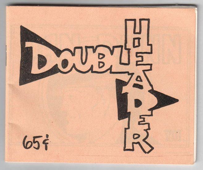 DOUBLEHEADER Tijuana Bible reprint ROGER MAY