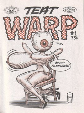 TEAT WARP #1 mini-comic JIM BLANCHARD 1994