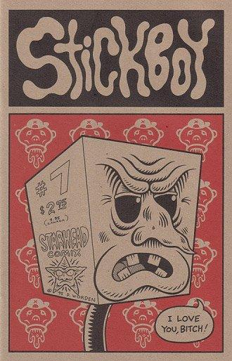 STICKBOY #7 alt comix DENNIS WORDEN 1995