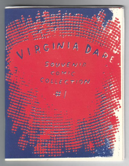 VIRGINIA DARE #1 minicomic J. BRADLEY JOHNSON 1995