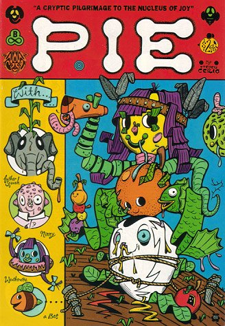 PIE trippy comix STEVEN CERIO intro by Gary Panter 1996
