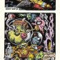 SPOOKS IN SPACE full-color lowbrow art comix XNO 1986