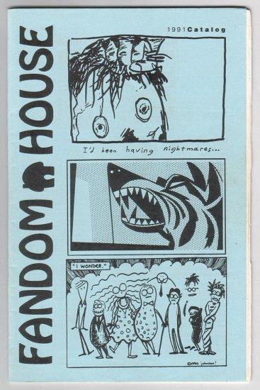 FANDOM HOUSE minicomics catalog 1991 small press comics