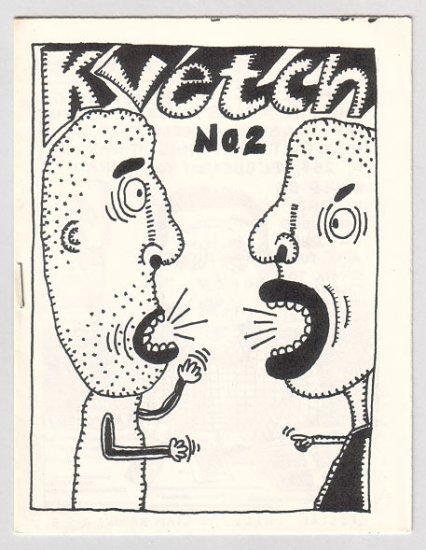 KVETCH #2 mini-comic JIM CONATSER 1988 comix