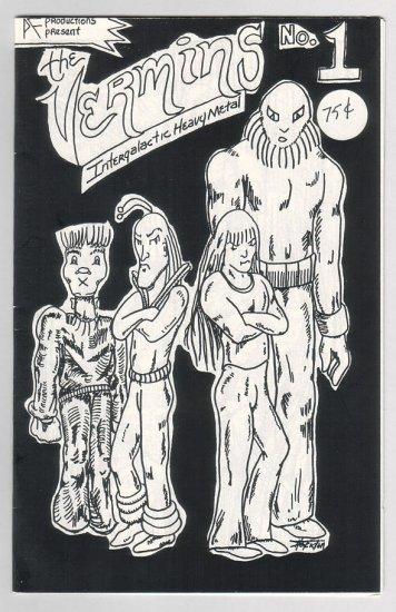 THE VERMINS #1 mini-comic BOB SHERIDAN 1985