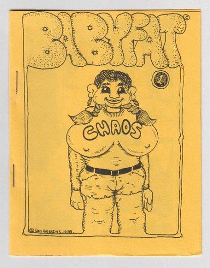 BABYFAT #1 mini-comic FRED HEMBECK Gary Whitney SCOTT SHAW 1978 underground comix