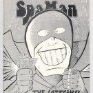 SPAMAN #3 mini-comic AL GREENIER underground comix minicomic 1986