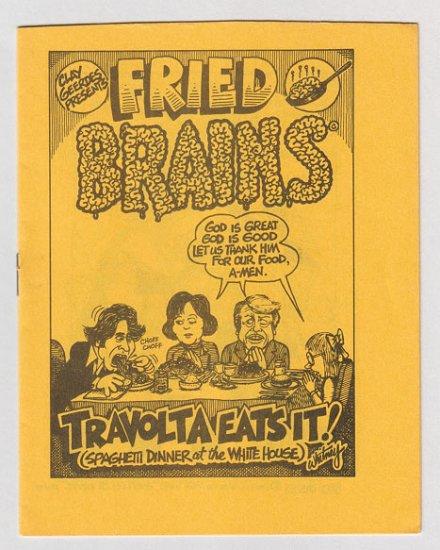 FRIED BRAINS #1 minicomix GARY WHITNEY Brad Foster 1979 underground comix