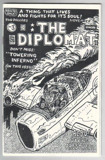 THE DIPLOMAT #3 mini-comic CHRIS CILLA 1996
