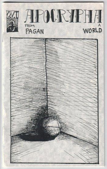 APOCRYPHA mini-comic JASON WHITLEY 1989