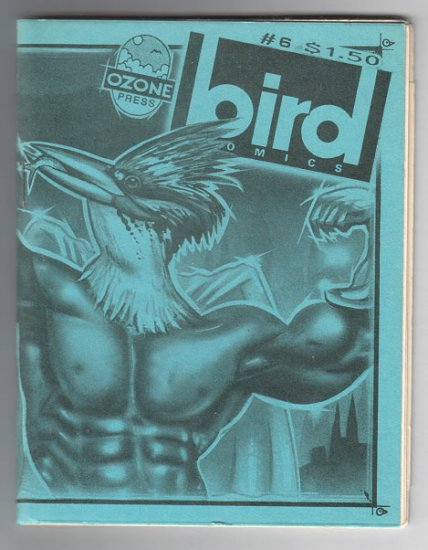 BIRD COMICS #6 mini-comic PARSONAVICH Edward Bolman TOM STAZER 1987