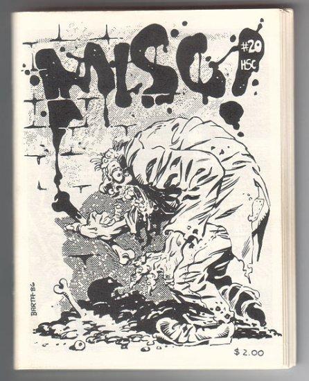 MISC #20 mini-comic BARTA Feazell DISSMEYER Bolman WILLIS 1986