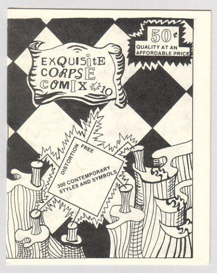 EXQUISITE CORPSE COMIX #10 mini-comic BILL SHUT Mystery Hearsay 1986