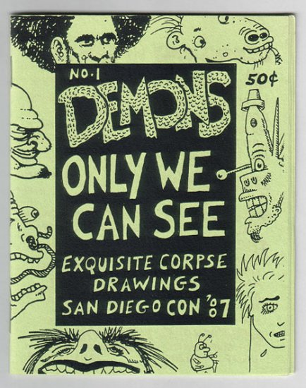 DEMONS ONLY WE CAN SEE #1 mini-comic DENNIS WORDEN Mary Fleener BOB X 1988