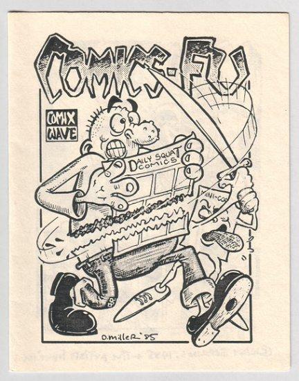 COMICS-FU mini-comix PAR HOLMAN David Miller 1985