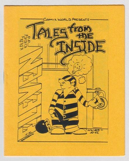 TALES FROM THE INSIDE #11 mini-comic MACEDONIO James Waltman 1983