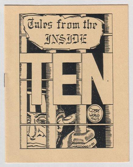 TALES FROM THE INSIDE #10 minicomic JAMES WALTMAN Macedonio 1983
